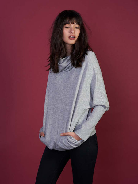 The Felicity Cocoon in Grey