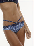 40% OFF: The Ursula V Swim Bottom in VAUTE Star Print