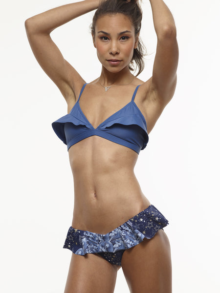 FINAL SALE: Ariel Ruffled Bottom in VAUTE Star Print