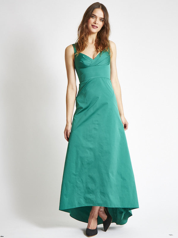 FINAL SALE: The ANAIS Gown - Emerald | VAUTE