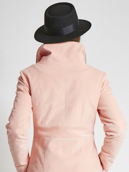 The BOATER Felt Hat in Grey [1 left]