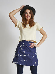 15% OFF: A-Line Skirt in Flight