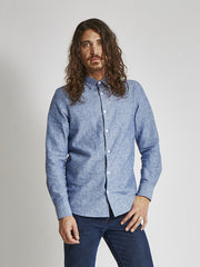 15% OFF: Organic Linen Button Down - Multiple Colors