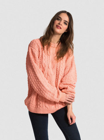 The Vaute Aran Sweater - Apricot