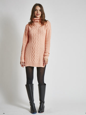 Almost Soldout: 15% Off: VAUTE Vegan Sweater Dress - Apricot