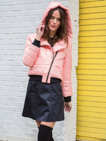 SHIPS NOW 40% OFF: The JESS Snow Coat - Apricot
