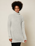 The Gender Neutral Turtleneck Sweater in Cloud
