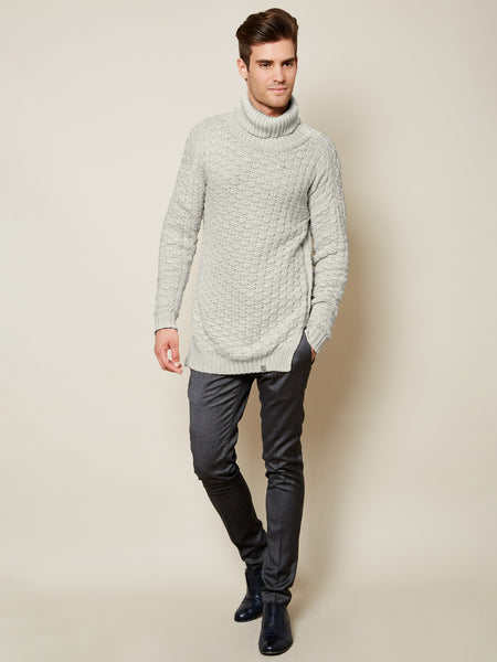Preorder: The Turtleneck Sweater in Cloud on Him
