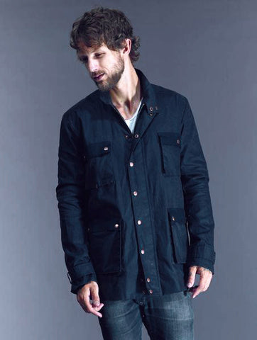 JUST ARRIVED 25% Off: Derek Waxed Workman in Black