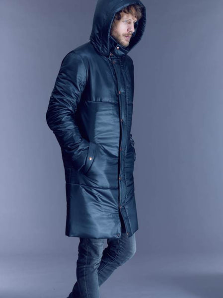 SHIPS NOW 40% OFF: The MARK Snow Coat - Black and Charcoal