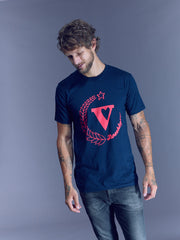 VAUTE + Brooklyn Organic Tee in Navy