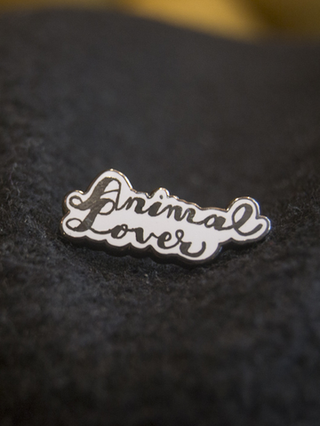 Animal Lover Pin