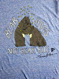 Bear Hugs Tank in Light Blue [Benefit for Animals Asia]