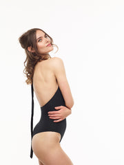 $25 Off: Liz Backless Organic Bodysuit in Black