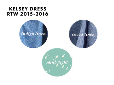 15% OFF: The Kelsey Dress - Linen & Prints