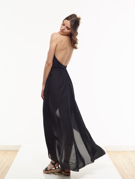 25% OFF: Vanessa Maxi Dress in Black