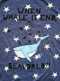 When Whale It End?! Hoodie in Navy Stars [Benefit for WDC]