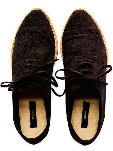 BHAVA x VAUTE Oxford Flats - Coffee