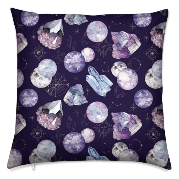 Dark Cosmos Velvet Cushion