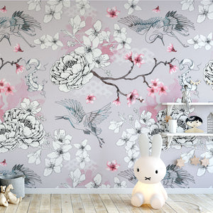 Chinoiserie Dreams (Taupe)