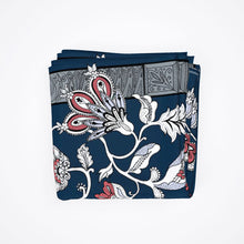 Load image into Gallery viewer, The Midnight Garden Silk Scarf