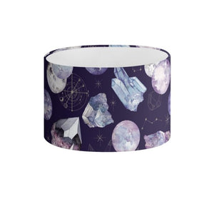 Dark Cosmos Drum Lampshade