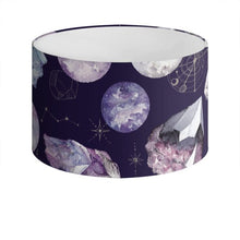 Load image into Gallery viewer, Dark Cosmos Drum Lampshade
