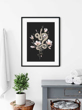 Load image into Gallery viewer, Magnolia & Serpent Art Print