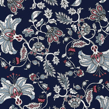 Load image into Gallery viewer, The Midnight Garden Wallpaper (navy)
