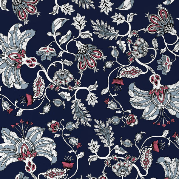 The Midnight Garden Wallpaper (navy)