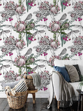 Load image into Gallery viewer, Protea Bouquet Wallpaper