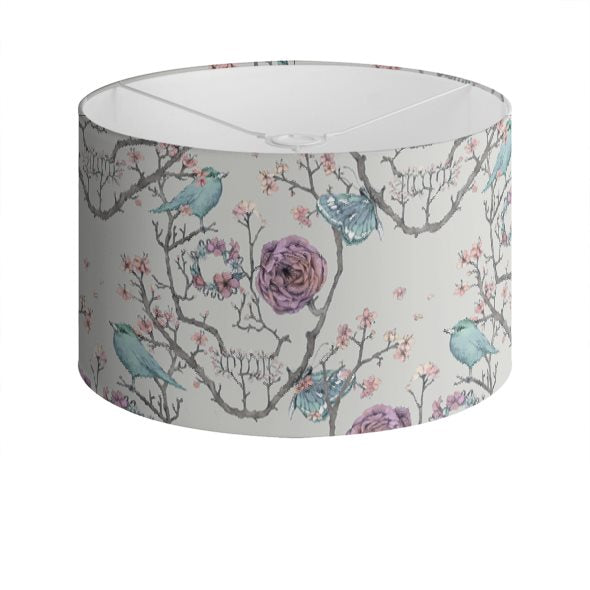 Sakura Drum Lampshade