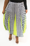 "PLEATED ""DIANE"" SKIRT"