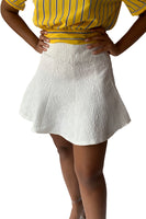 "FLARED ""CANDICE"" MINI SKIRT"