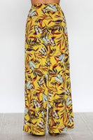 "WIDE LEG ""LILLY""PANTS WITH PLEATED FRONT"
