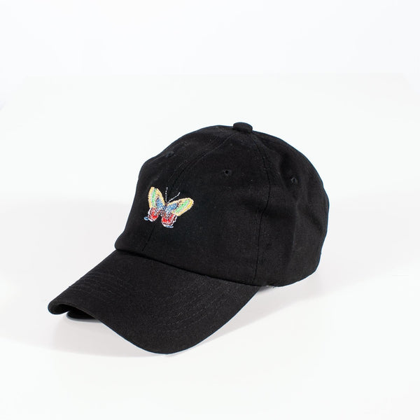 Float Like A Butterfly strapback cap