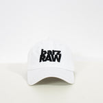 Logo dad cap, white