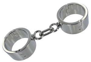 Chrome Wrist Shackles