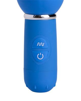 Blue Boy 10 Mode Silicone Thruster Dildo