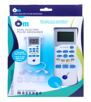 Om Dual Electric Pulse Massager