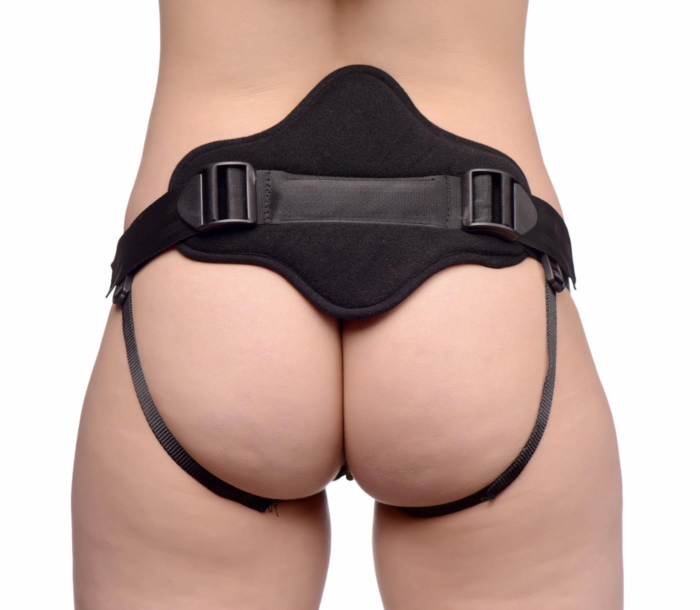 Peg Me Universal Padded Strap On Harness with Back Support