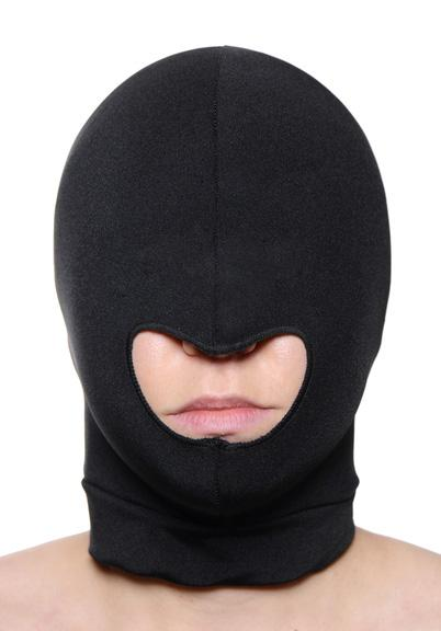 Blow Hole Open Mouth Spandex Hood