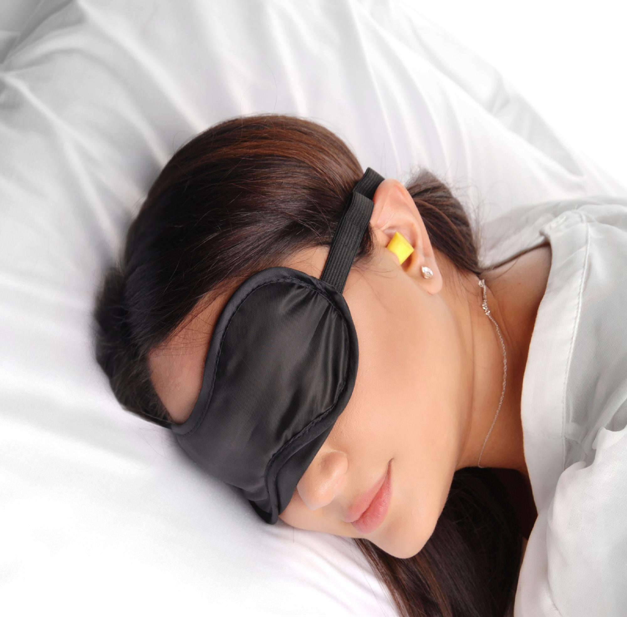 Beginner Sensory Deprivation Blindfold with Ear Plugs