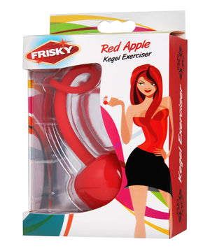 Red Apple Silicone Kegel Exerciser