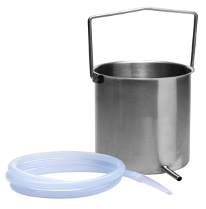 CleanStream Premium Enema Bucket Kit with Silicone Hose
