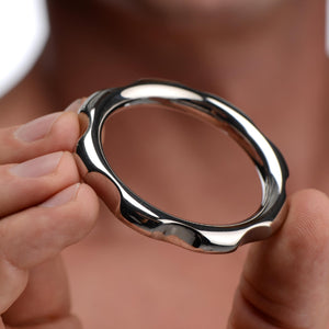 Gear Head Metal Cock Ring
