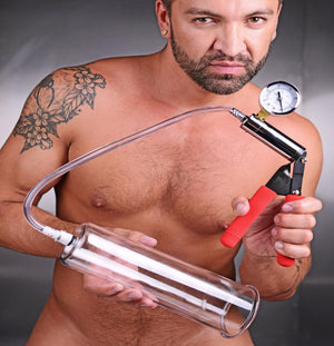 Cock and Ball Deluxe Penis Pumping Kit