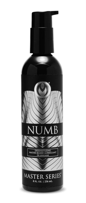 Numb Desensitizing Water Based Lubricant with 5-Percent Lidocaine - 8 oz