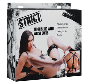 Deluxe Thigh Sling With Wrist Cuffs