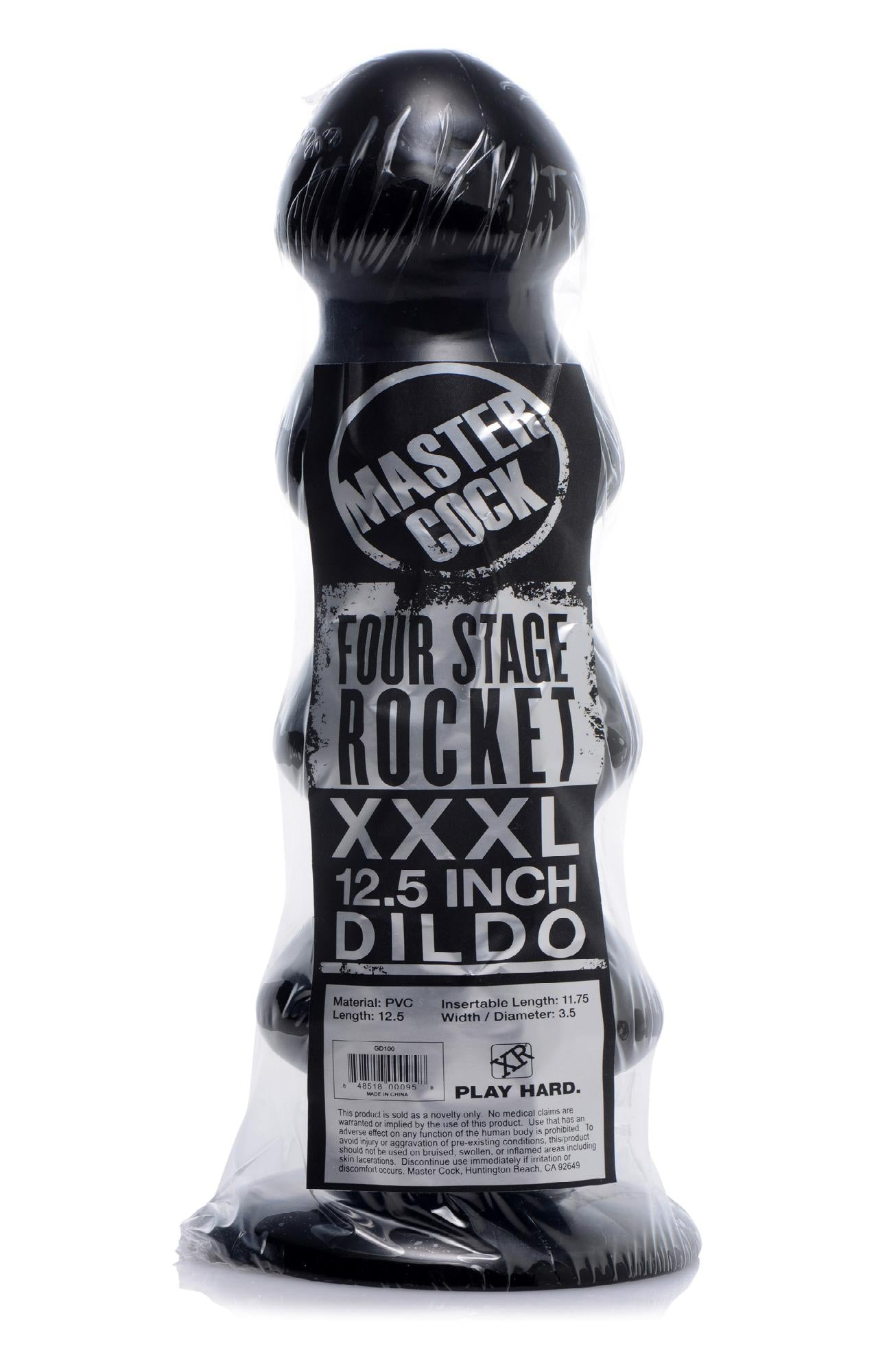 Four Stage Rocket Dildo